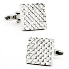 Apex Square Cufflinks – High Hat Haberdashery