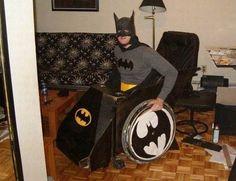 Halloween Costumes for Wheelchairs - Batman