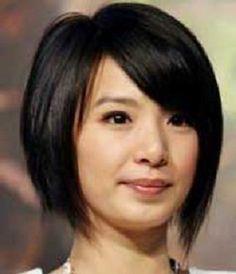 Asian Womens Lob Layered Haircuts In 2020 Bob Hairstyles for asian Women Asian Bob Haircut, Bob Style Haircuts, Bob Haircut For Round Face, Edgy Short Haircuts, Bob Hairstyles For Round Face, Cute Hairstyles For Short Hair, Short Hair Cuts For Women, Pixie Hairstyles, Asian Hairstyles