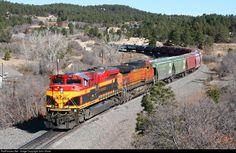RailPictures.Net Photo: KCS 4161 Kansas City Southern Railway EMD SD70ACe at Palmer Lake, Colorado by John Shine