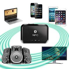 LONGKO Bluetooth 4.1 Receiver (NFC-Enabled) Wireless Audi... https://www.amazon.com/dp/B01HUOLJLC/ref=cm_sw_r_pi_dp_x_vqBdybNQ7AT7A