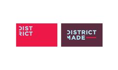 """District Clothing — Rebrand      San Mar, one of the world's largest clothing manufacturers, steps out of the """"white label"""" manufacturing world, and into mass fashion. Ready to take on clothing giants like American Apparel and Gap, San Mar re-designed it's youth line, District Threads, revamping and expanding it's style into some thing much more fashion forward."""