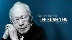 Remembering the Man who made a lasting impact on our Nation.In my lifetime, the late Mr Lee, has transformed Singapore into a Nation. We are so proud of him.