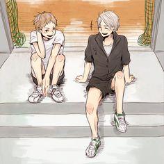 Yaku Morisuke & Sugawara Koushi - Haikyuu!! / HQ!!