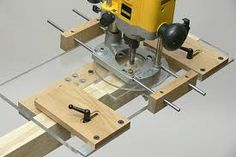 A router with a jig can also be used to make a tenon and is easier to use everywhere with it being portable