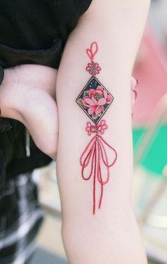 Tattoo designs traditional coloring 16 New ideas Charm Tattoo, Fan Tattoo, Tattoo Now, Tatoo Art, Soul Tattoo, Mini Tattoos, Body Art Tattoos, Small Tattoos, Korean Tattoos