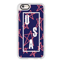 Olympic USA 2 - iPhone 6s Case,iPhone 6 Case,iPhone 6s Plus... ($40) ❤ liked on Polyvore featuring jewelry, iphone case, bezel jewelry, clear crystal jewelry and clear jewelry