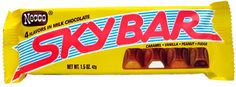 Sky Bars Necco Candy Bars 6 Pack