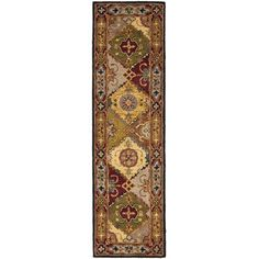 Found it at Wayfair - Heritage Yellow/Red Rug