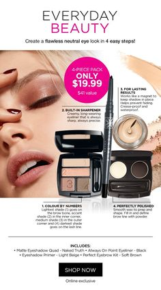 Makeup, Skincare, Fragrance, Fashion and much, much more! Neutral Eyes, Avon Online, Avon Rep, Bath And Body, Eyeliner, That Look, Fragrance, Lipstick, Skin Care