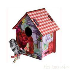 Miho design Vogelhuis 'Enjoy the crumbs'