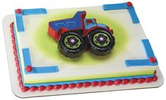 Dump Truck Puzzle DecoSet® Cake for Kids