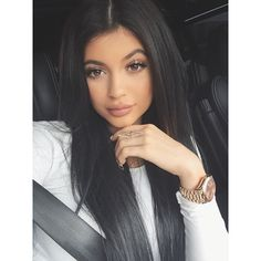 Kylie Jenner-( Lip injections ) She's so pretty tho, and her makeup is on point! And don't get me started on that hair! Straightening your own hair is hard especially in the back.. love her style ♡