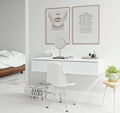 Custom Made Vanity Blend. Type: F Tipmatic. Modern and sleek vanity. All White and Gold or Rose Gold. Wardrobe Room, Student Room, White Vanity, Makeup Rooms, Or Rose, Rose Gold, Walk In Closet, Awesome Bedrooms, White Bathroom