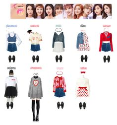 """TWICE - 1 TO 10❤️"" by mabel-2310 on Polyvore featuring Lazy Oaf, Topshop, Steve J & Yoni P, Pull&Bear, Zara, Balenciaga, Jean-Paul Gaultier, Off-White, Alexander Wang and Dr. Martens"