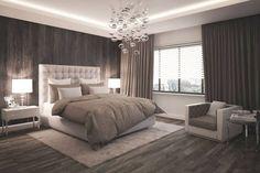 Bedroom: modern bedroom by formforhome Architecture & Design # Schlafzimm . - Bedroom: modern bedroom by formforhome Architecture & Design # Schlafzimmer - Modern Bedroom Decor, Cozy Bedroom, Bedroom Furniture, Modern Bedrooms, Ikea Bedroom, Trendy Bedroom, Contemporary Bedroom, Bedroom Brown, Furniture Ideas