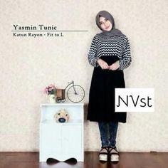 Baju Muslim Yasmin Tunik