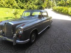 Mercedes 220 SE Coupé - Woowmotors Mercedes 220, Antique Cars, Classic Cars, Cutaway, Vintage Cars, Vintage Classic Cars, Classic Trucks