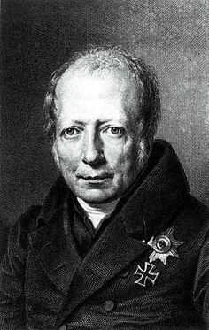 """K. Wilhelm Freiherr von Humboldt: 1767  to 1835. """"Aristotelian sense of the ways in which human beings enrich each other's lives in society, together with a quite non-Aristotelian sense that one can neither predict nor set limits to human moral and cultural experimentation."""" (more: http://www.acton.org/pub/religion-liberty/volume-1-number-3/k-wilhelm-freiherr-von-humboldt)"""