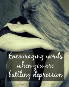 If you struggle with depression here are some tools, tips and scriptures to encourage you in your journey towards joy.