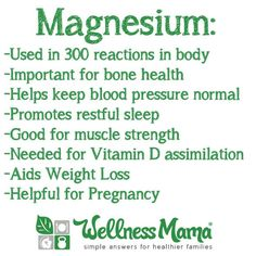 Are You Low on Magnesium?