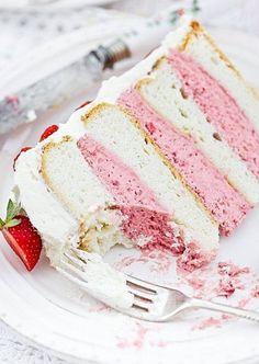 Strawberry Mousse Strawberry mousse Mousse and Chocolate cake