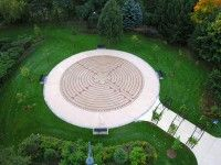 Labyrinth at Central Park, Burlington, Ontario - Beautiful & Tranquil