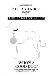 kelly gerber + The Barktorialist | rescued charm | silver