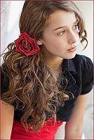 gorgeous teen/tween/ladies hair flowers and accessories