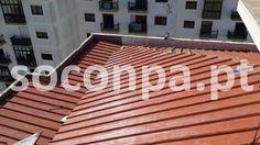Colocação de telhado Sandwich Rio de Mouro