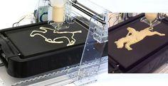 Une imprimante à crêpes
