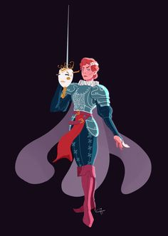 Carnaval de Venise - Zoé by Matthias Chicaud Posted by /u/Hvitserkr to /r/armoredwomen Character Design Challenge, Character Design References, Character Design Inspiration, Character Concept, Character Art, Concept Art, Character Illustration, Illustration Art, Female Knight