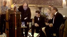Stanley Kubrick  with Tom Cruise, Nicole Kidman, Todd Field, Sydney Pollack. Eyes Wide Shut