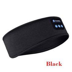 Sinplect™ Bluetooth Sports Headband - Black / United States