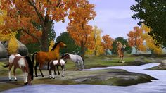 Photos of The Sims 3 Pets horses   ... Pets Cowboys, Wild Horses, Cats and Dogs, Oh My! Sims 3 Gamer Sims 3