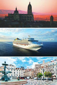 Unmissable EX-UK 14 night sailing with P&O Cruises, Atlantic Coast-Iberia from ONLY Calling at Southampton - Lisbon - Cadiz - Cartagena – Spain - Malaga - Casablanca - Madeira - Southampton Cartagena Spain, P&o Cruises, Cruise Holidays, Holiday Deals, Cadiz, Southampton, Malaga, Lisbon, My Sunshine
