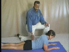 McKenzie Exercise - Dr Mike reviews McKenzie or back extension exercises for those with a lumbar disc herniation.