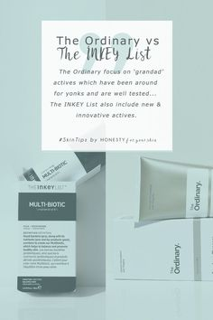 Skincare scientist exposes the 6 key ways The Ordinary are different vs. The INKEY List skincare. Don't miss this crazy helpful expose. Click to read more. #honestyforyourskin #theordinaryreview #theinkeylist All Natural Skin Care, Anti Aging Skin Care, Natural Beauty, Skincare Blog, Skincare Routine, Acne Prone Skin, Oily Skin, How To Get Rid Of Acne, How To Find Out