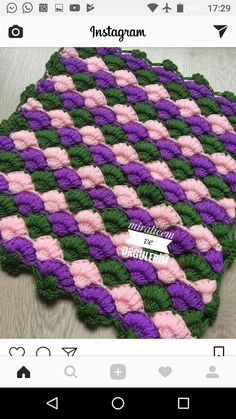 This Pin was discovered by HUZ Baby Blanket Crochet, Crochet Baby, Knit Crochet, Crochet Stars, Crochet Flowers, Knitting Stitches, Baby Knitting, Knitted Baby Clothes, Knit Pillow