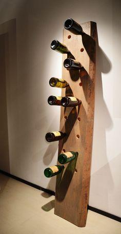 Portabottiglie da parete muro in ferro battuto ebay arredo pinterest ebay - Portabottiglie in legno ikea ...