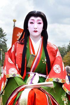 Jidai Matsuri 2013. Geiko Fukunao, Miyagawacho (by ApplepieOokami). °
