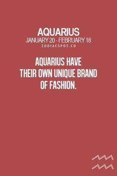 True. Don't like to follow the crowd....#Aquarius ♒