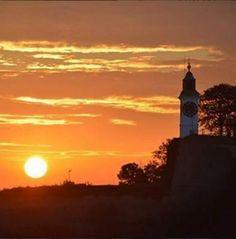 Novi Sad, Celestial, Sunset, Outdoor, Outdoors, Sunsets, Outdoor Games, The Great Outdoors, The Sunset