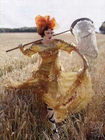 Martina M.: Karlie Kloss by Tim Walker for Vogue India November 2010