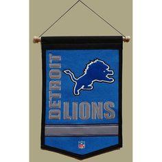 Detroit Lions NFL Traditions Banner (12x18)