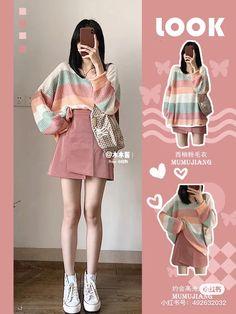 Korean Outfit Street Styles, Korean Fashion Dress, Kpop Fashion Outfits, Korean Street Fashion, Ulzzang Fashion, Korea Fashion, Korean Outfits, Cute Fashion, Look Fashion