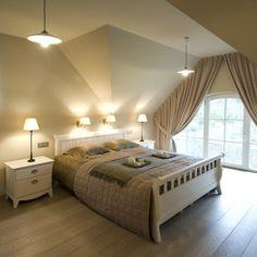 landelijke slaapkamer