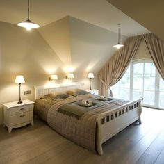 Landelijke slaapkamer More