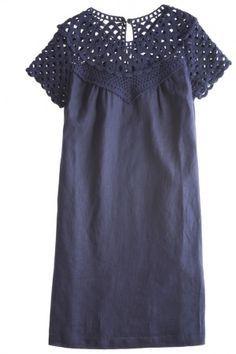 Crochet Yoke Dress