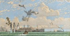 WWII Painting That Disappeared After Churchill Ordered Cover-Up Found In Sydney